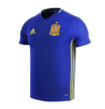 2016-2017 Spain Adidas Training Jersey (Blue)
