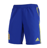 2016-2017 Spain Adidas Woven Shorts (Blue)