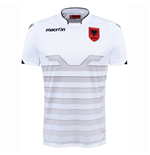 2016-2017 Albania Away Macron Football Shirt
