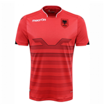 2016-2017 Albania Home Macron Football Shirt