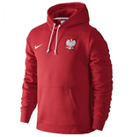 2016-2017 Poland Nike Core Hoody (Red)