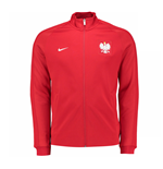 2016-2017 Poland Nike Authentic N98 Jacket (Red)