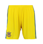 2016-2017 Ukraine Home Adidas Football Shorts (Yellow)