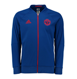 2016-2017 Man Utd Adidas Anthem Jacket (Royal Blue)