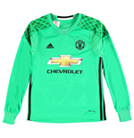 2016-2017 Man Utd Adidas Away Goalkeeper Shirt (Kids)