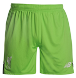 2016-2017 Liverpool Home Goalkeeper Shorts (Locust) - Kids