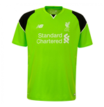 2016-2017 Liverpool Home Short Sleeve Goalkeeper Shirt (Kids)