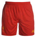 2016-2017 Liverpool Home Shorts (Red)