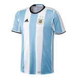 2016-2017 Argentina Home Adidas Football Shirt