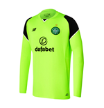 2016-2017 Celtic Home Long Sleeve Goalkeeper Shirt (Toxic)