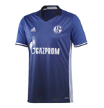 2016-2017 Schalke Adidas Home Football Shirt