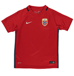 2016-2017 Norway Home Nike Football Shirt (Kids)