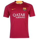 2015-2016 Barcelona Nike Pre-Match Training Jersey (Dynamic Berry)