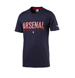 2016 Arsenal Puma Fan Tee (Black Iris)