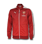 2016 Arsenal Puma Stadium Jacket (Rio Red)