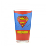 Superman Glass - Costume
