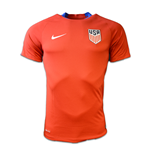 2016-2017 USA Nike Training Shirt (Red)