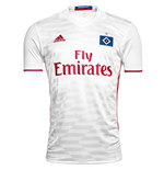 2016-2017 Hamburg Adidas Home Football Shirt