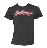 Men's BUDWEISER Logo Black T-Shirt