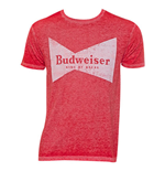 Men's Budweiser Bowtie Red T-Shirt
