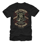 GAS MONKEY GARAGE Blood Sweat Beers Black T-Shirt