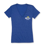 Women's Corona Deep V Blue T-Shirt