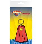 Superman Rubber Keyring - Cape