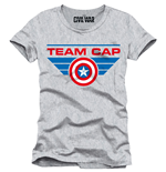 Captain America Civil War T-Shirt Team Cap
