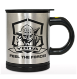 Star Wars Self Stirring Thermo Mug Yoda