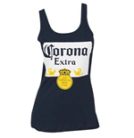 Women's Corona Label Blue Tank Top