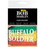 Bob Marley Card Holder - Buffalo Soldier