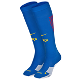 2016-2017 Barcelona Nike Home Socks (Blue)