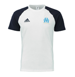 2016-2017 Marseille Adidas Training Tee (White)
