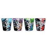 BATMAN VS Villains 4 Pack Shot Glasses