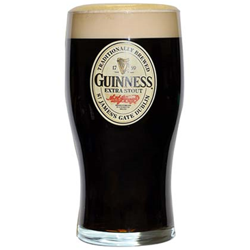 GUINNESS 20 Ounce Glass