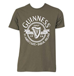 GUINNESS St James Gate Green Tee Shirt