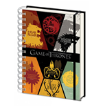 Game of Thrones Notebook A5 Sigils
