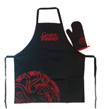 Game of Thrones cooking apron with oven mitt Targaryen