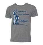 Men's BUSCH Taste Grey T-Shirt