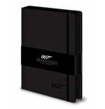 James Bond Premium Notebook A5 007 Logo