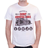 Friday the 13th T-Shirt Camp Crystal Lake White