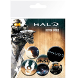 Halo 5  Badge Pack - Mix
