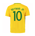 2016-17 Brazil Home Shirt (Neymar JR 10) - Kids