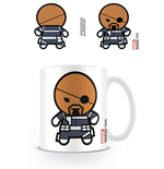Marvel Comics Mug Kawaii Nick Fury