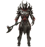 The Elder Scrolls V Skyrim Legacy Collection Action Figure Daedric Warrior 15 cm