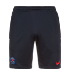 2016-2017 PSG Nike Longer Knit Shorts (Navy)