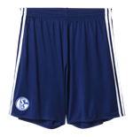 2016-2017 Schalke Adidas Home Shorts (Blue)
