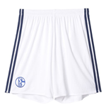 2016-2017 Schalke Adidas Home Shorts (White) - Kids