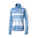 2016-2017 Uruguay Puma Quarter Zip Training Top (Silver Lake Blue) - Kids