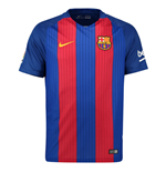 2016-2017 Barcelona Home Nike Football Shirt